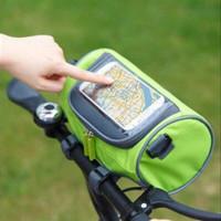 Tas sepeda bagian depan setang lihat peta Bike Riding Touch Bag HPO006