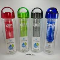 TRITAN Water Bottle BPA Free - Botol Minum Infus Buah