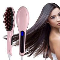 catok sisir pelurus rambut HQT-906 / fast hair straightener