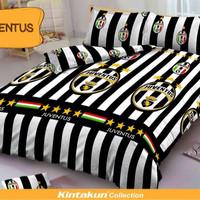 Jual Bedcover Set Kintakun D'luxe Uk.160 X 200 Motif Juventus Murah