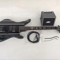 Gitar Synyster Gates plus ampli include kabel jek siap pakai