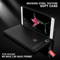 Soft Case Brushed Steel Xiaomi Mi Max Prime Softcase Silikon Casing