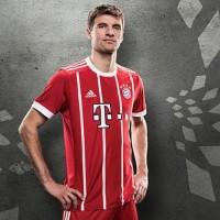 Jersey Bayern Munchen Munich Home 17/18 Grade Ori 1 Stel BAju + Celana