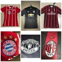 Jersey Baju Bola Bayern Munchen Munich Home Adizero 17/18 Grade ORi