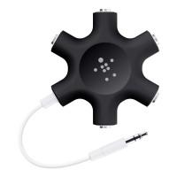 [BELKIN] Rockstar Multi Headphone Splitter 5-out (Black)