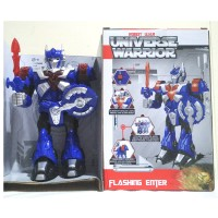 Mainan robot transformer Universe Warrior bump and go Optimus Prime