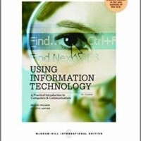 Using Information Technology 10e by Wiilliam