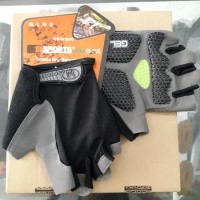 Aksesoris Sepeda |Glove Hosport Gel Hitam