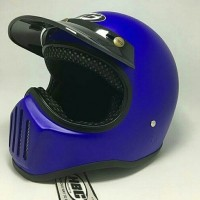 Helm Cakil Blue / Helm Cakil Retro / Helm Cakil HBC / Helm Cakil SNI