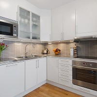 custom kitchen set minimalis modern
