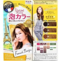 Liese Prettia Creamy Bubble Hair Color- French Beige aka Biscuit Beige
