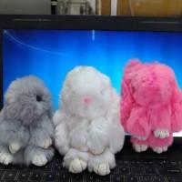 Jual Gantungan tas / kunci kelinci rabbit bunny kopenhagen Murah