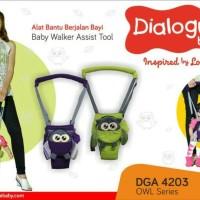 Jual Dialogue Baby Alat Bantu Berjalan Walker Bayi Owl Series DGA4203 Murah
