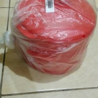 Jual steam it merah tupperware alat kukus 2 susun Murah
