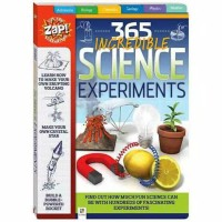 Buku Anak Import 365 Incredible Science Experiments