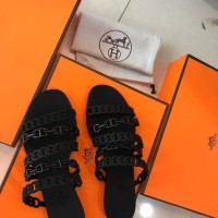 Jual Sandal Hermes Jelly #1   Mirror Quality, 3 warna hitam, orange & nude Murah