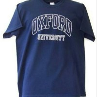 kaos / tshirt / baju Oxford University