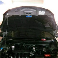 Peredam Ekslusive suara bising kap mobil Honda Brio matic