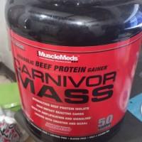 Jual susu suplemen carnivor mass 6 lbs  Murah