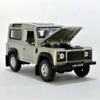 Diecast LAND ROVER DEFENDER Miniatur Mobil Welly Asli Original