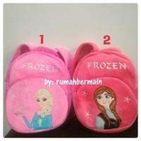 Jual Tas Ransel Anak Karakter Boneka Frozen Anna Elsa 35cm Import Sekolah Murah