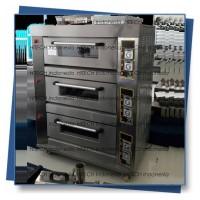 Gas Deck Oven Otomatis 3 Deck 6 Tray Oven Roti Otomatis HITECH ARF60H