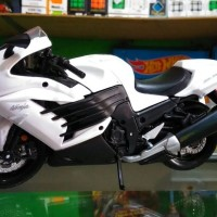 Diecast Motor Maisto Skala 112 - Miniatur Motor Kawasaki Ninja ZX14R