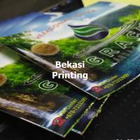 Cetak Label Sticker Air Galon 10 x 13 cm | Chromo + Laminating
