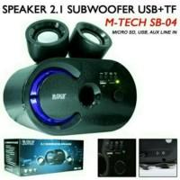 harga Speaker Aktif M-tech Subwoofer Sb-04 Ori Tokopedia.com