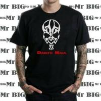 Jual T Shirt Big Size TShirt Kaos Pria Besar Darth Maul Murah