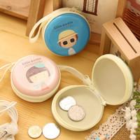 Diskon Tempat Headset/Tempat Koin/Karakter Gadis Lucu - Khe026 Limited