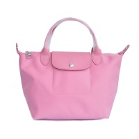 TAS WANITA AUTHENTIC LONGCHAMP LE PLIAGE NEO SMALL - ROSE PINK