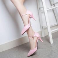harga Sepatu Heels Gelang Pump / High Heels Gp06 As-dy Salem Tokopedia.com