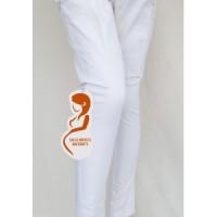Celana hamil Twill pensil khusus putih Chp 036