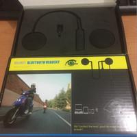 Headset bluetooth Helm Handfree Bluetooth untuk di Helm HalfFace Murah