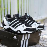 Sepatu Sport Adidas AX2 Hitam Putih / Joging / Lari / Olahraga