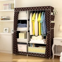 Jual Lemari Pakaian Multifunction / Cloth Rack with cover Murah