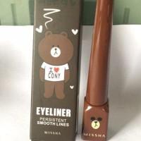 MISSHA BROWN -Korean Eyeliner Bear Persistent Smooth Lines I Love Cony
