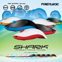 Morrologic Air Shark Mouse Wireless 2.4Ghz (By Powerlog Terbaik