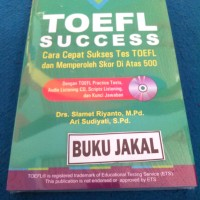 BUKU THE QUICK WAY TOEFL SUCCESS SLAMET RIYANTO PP_al