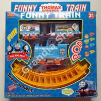 Jual Mainan Kereta Api Funny Train Motif Thomas And Friends Bagus Termurah Murah