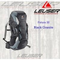 Deuter Futura 32 Black Granite/ Tas Punggung Outdoor/ Populer