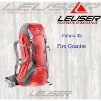 Jual Tas Punggung Outdoor/ Deuter Futura 32 Fire Granite/ Bermerk