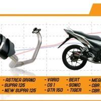 Knalpot Nobi Neo Ss Untuk Motor Matic