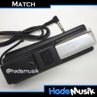 Pedal Sustain MATCH MPS-6 untuk Keyboard/Piano Roland,KORG,Yamaha,dsb