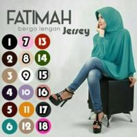 Jual Hijab/Jilbab Fatimah Bergo Lengan Jersey Murah