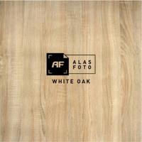 Alas foto WHITE OAK 100x60 (Free aplikasi edit foto)