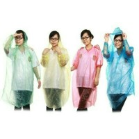 Jas Hujan Sekali Pakai Darurat Disposable Raincoat