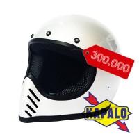 Helm Robot Cakil Pilot Bogo Alien HBC lis list crome chrome krum krom