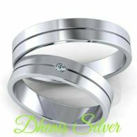 cincin kawin nikah tunangan pasangan Palladium 25%
